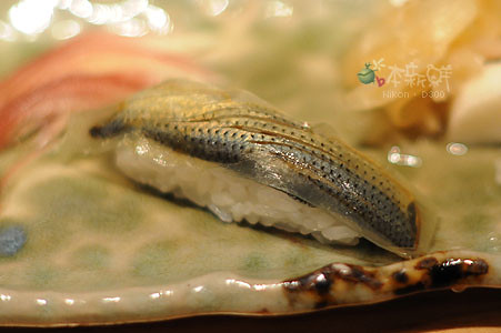 白昆布鯖魚握壽司