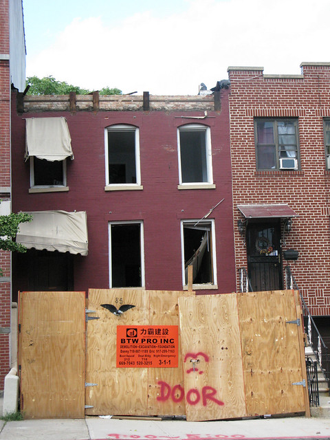 3rd Street Demolition, Carroll Gardens, Brooklyn