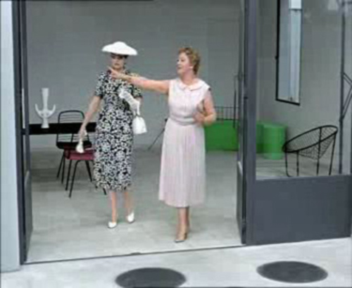 Mon Oncle, a film by Jacques Tati, 1958