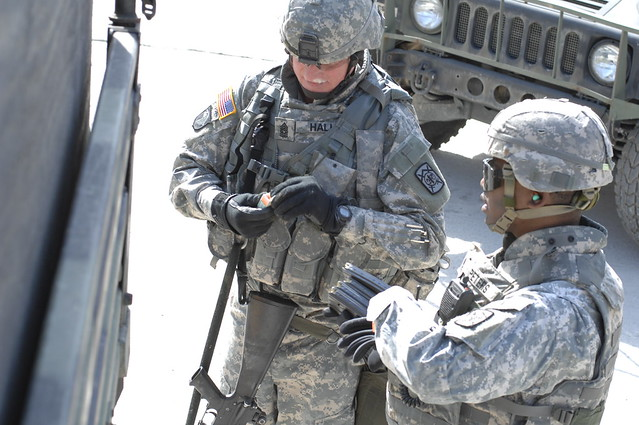 Convoy live-fire training - 25 March 2009 - 194th Combat Sustainment Support Battalion - Story Live-Fire Complex - US Army Korea by US Army Korea - IMCOM