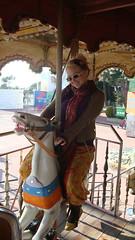 Kat rides