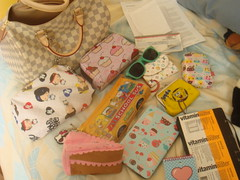 So let me show you what I carried today (love a la mode) Tags: hellokitty fluff spongebobsquarepants louisvuitton harajukulovers cramcream