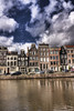 Amsterdam's Canal Houses (edmundlwk) Tags: amsterdam clouds canal hdr canon450d tokina1116mmf28 edmundlim