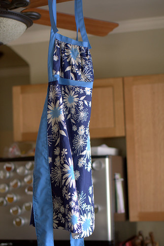 Emmeline apron (pattern from Sew Liberated)