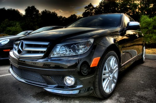 Reflecting Benz HDR