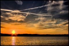 Lake Robinson Sunset (Jerry Spain) Tags: blueribbonwinner flickrstars hdrphoto pentaxk100d theunforgettablepictures platinumheartaward goldstaraward golddragonaward flickrestrellas vosplusbellesphotos sensationalphoto hdrdreams