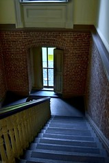 Stairway to Vaults on Ground Floor (Greatest Paka Photography) Tags: sanfrancisco california stairs earthquake mint stairway 1906 nationalhistoriclandmark repository oldmint usmint classicalrevivalarchitecture granitelady alfredbultmullett