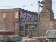 EVOL R.I.P. roller (Billy Danze.) Tags: chicago graffiti peace afro xmen roller rest jem efs 42 evol gem villains kym aom afroe polack j4f