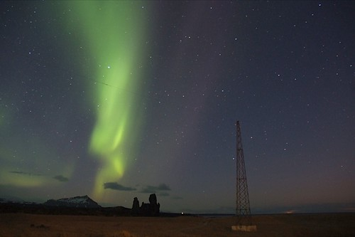 Snæfellsnes: Northern Lights