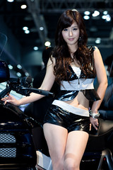 Seoul Motor Show 18 (mrsoeil) Tags: show asian model korea racing seoul motor kintex songjina