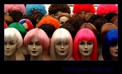 Hold your head up! (Iam Marjon Bleeker) Tags: holland amsterdam dolls market head wig markt albertcuypmarkt pruik albertcuyp