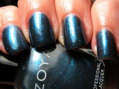 Zoya Kotori (pickypuppy) Tags: blue zoya manicure nailpolish kotori