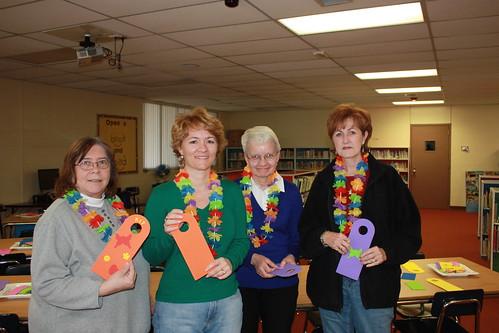 Volunteers at Algonac Elementary