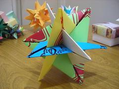 Planar wxyz (AnaliaGtz) Tags: origami modular papiroflexia planar
