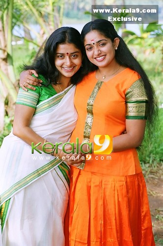 Malayalam film actresses Kavya Madhavan and Meera Jasmine exclusive photo