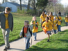 West Boulevard Elementary Walking School Bus