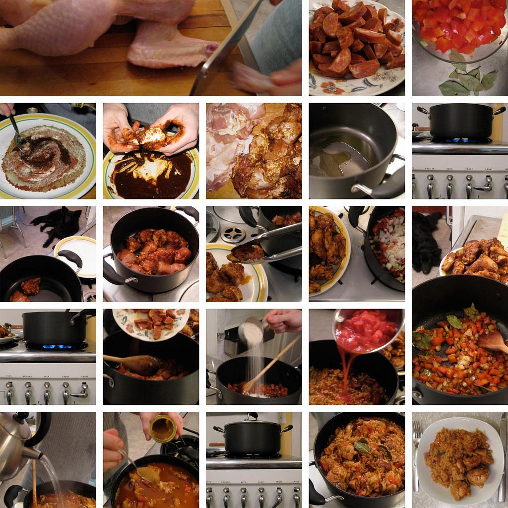 """Picture recipe (""""picturecipe"""") for Arroz con Pollo"""