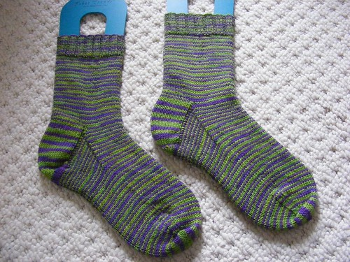 Jungle stripe socks