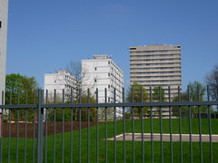 High-rise homes in Hillfields, Coventry (lydia_shiningbrightly) Tags: uk england urban architecture landscapes skylines flats highrise housing coventry westmidlands towerblock regeneration socialhousing councilhousing pioneerhouse housingestates housingassociation hillfields douglashouse innercities paulstaceyhouse whitefriarshousing