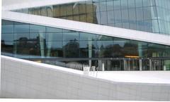 Opera House Entrance (bryanDeldridge) Tags: winter oslo norway scandanavia
