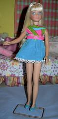 Platinum  Skipper (Spicyfyre Creations) Tags: vintage doll dolls ooak skipper mattel vintagedoll reroot vintagedolls vintageskipper