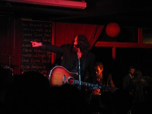 Tom Wilson with LeE HARVeY OsMOND