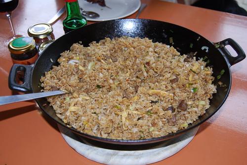 saté en nasi