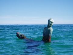 C. Y. O'Connor memorial (Figgles1) Tags: sculpture horse statue memorial kayak vision kayaking finn gizmo rider westernaustralia coogee cockburn tonyjones cyoconnor finngizmo p4271265 robbsjetty