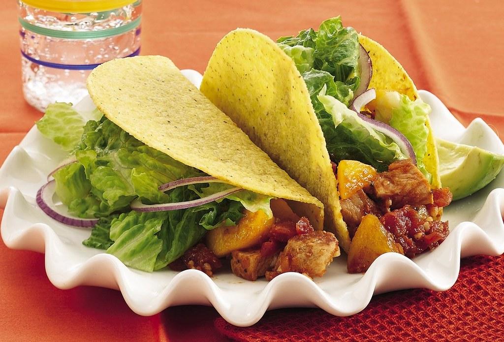 RECIPE: Peachy Chipotle-Pork Tacos