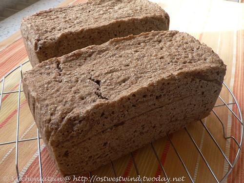 Bäcker Süpkes Roggen-Vollkornbrot mit Apfelmus 001