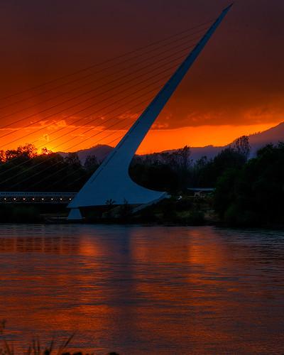 Sun Dial Bridge - 090428-027+