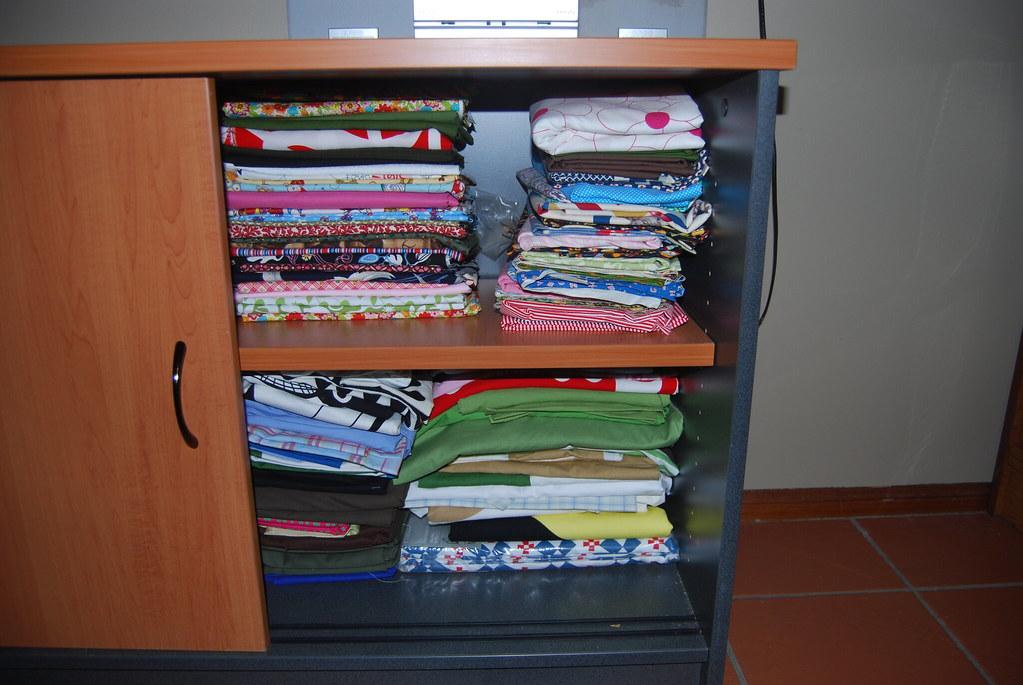 a few fabrics...