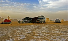 (840) white desert / Egypt (unicorn 81) Tags: africa travel sunset white color sahara nature clouds trekking landscape geotagged nationalpark sand colorful desert northafrica dunes dune egypt egyptian colourful egipto coloured 2009 gypten egitto egypte reise egypten rundreise roundtrip egipt gypte mapegypt saharadesert whitedesert westerndesert misr nordafrika egypttrip libyandesert april2009 gypten deserttour aegyptus libyschewste unicorn81 weisewste  whitedesertnationalpark gyptusintertravel gyptenreise schulzaktivreisen saharacolors nationalparkweisewste nationalparkwhitedesert wstenreise meinjahr2009