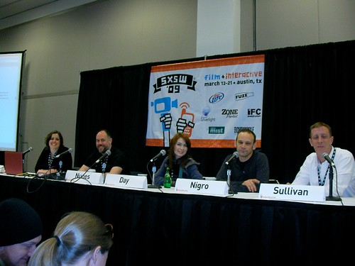 SXSWi 2009: No Budget to Lo Budget by LauraMoncur from Flickr