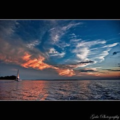 After Sunset (pearson_251) Tags: ocean sunset sea water clouds sailboat work island nikon sailing south horizon southcarolina southern flyingcircus catamaran sound inlet tidal cirrus lowcountry hiltonheadisland stearn beaufortcounty d80 jobilove calibouge