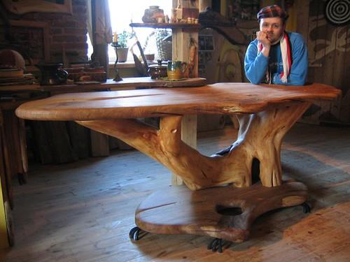 Мебель из стволов своими руками