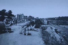 1870 205 Scavi all'Emporium (Roma ieri, Roma oggi: Raccolta Foto de Alvariis) Tags: roma 1870 anonimo lungoteveretestaccio rionetestaccio banchinedellemporium