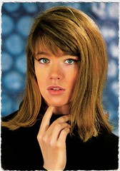 Francoise Hardy (Truus, Bob & Jan too!) Tags: cinema film vintage french european postcard vogue singer actress movies postal francoise sixties postale cartolina chanson hardy carte postkarte filmstar vedette ansichtkaart francoisehardy postkaart nisak yy tarjet publistar