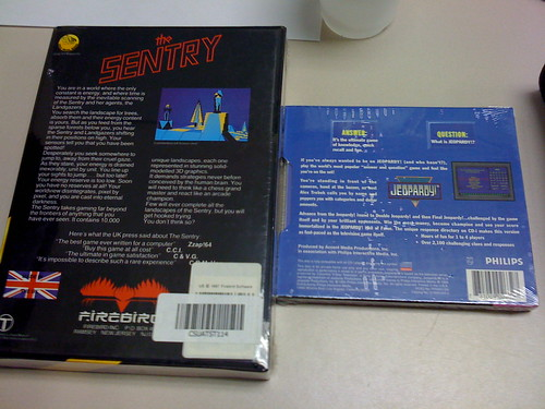 The Sentry (Atari ST) and Jeopardy! (CD-i) Sealed (1 of 2)