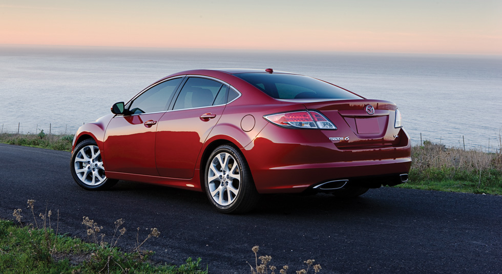 2010 MAZDA6 Red Mica Gallery