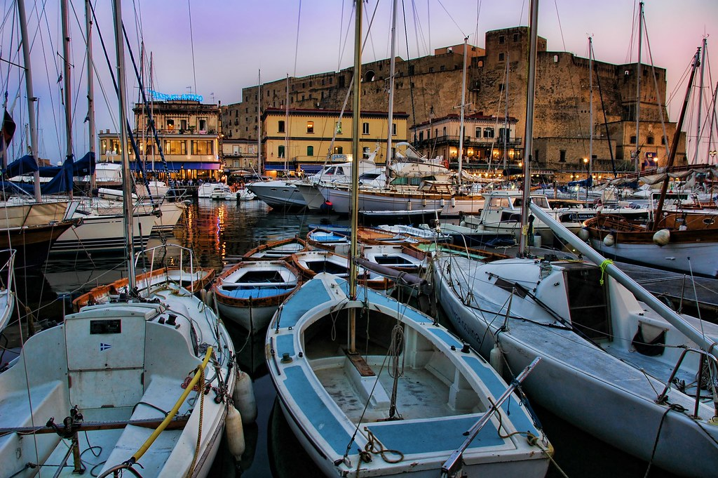 Stopping in the Bay of Naples for Dinner (by Stuck in Customs)