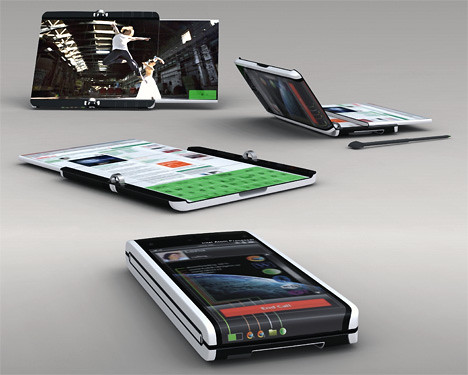 Business-Mobile-Phones-with-folding-screen-2
