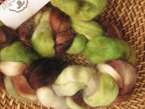 Spunky Eclectic 100% Combed Top Wensleydale - Estuary