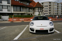 Porsche 997 GT2 (simons.jasper) Tags: road color beautiful car racecar jasper belgium belgie sony fast special porsche knokke wit simons gt2 a100 digest supercars 997 autogespot spotswagens
