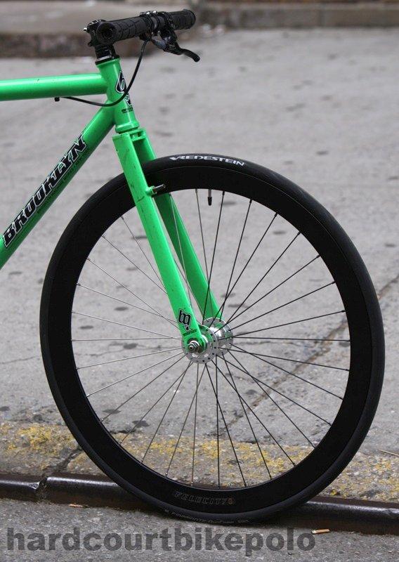 Velocity B43 front wheel