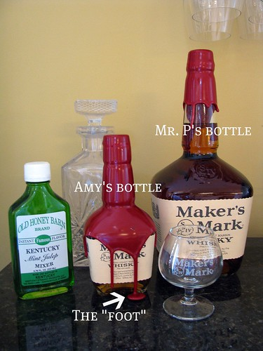 Maker's Mark & Mint Julep Mix