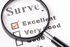 questionnaire and magnifier (Onlinesurveys) Tags: white canada glass paper report excellent survey grading rating magnify magnifier agreement magnification questionnaire checkbox checkmark analyse testresults