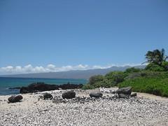 Lunch stop near Mauna Lani