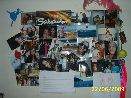 Quadro de fotos e adesivo de parede por ladytracy.