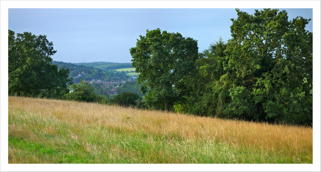 Whyteleafe from Riddlesdown Panorama 4-02sm